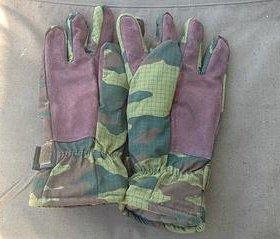 Перчатки с утеплителем и замшевым наладонником