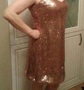 Новое Платье из пайеток
