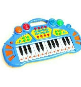 Детский синтезатор 24клавиши