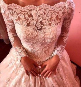 Свадебное роскошное платье Lussano Bribal