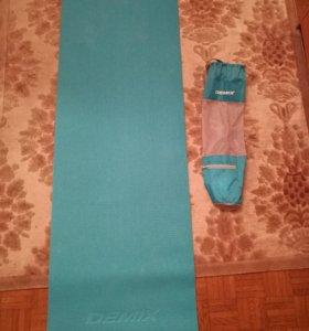 Коврик для йоги/фитнеса Demix