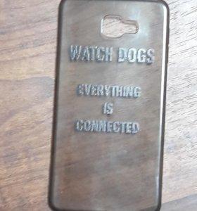 Чехол для samsung galaxy a9 watch dogs