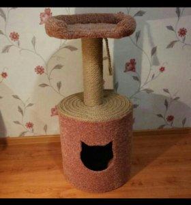 Дом- когтеточка для ваших кошек