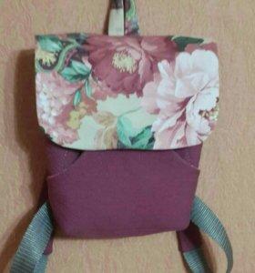 Детские рюкзаки ручной работы