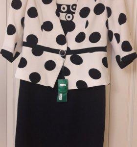 Платье-костюм новый р. 46