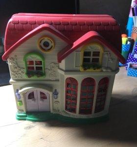 Домик для мини-кукол