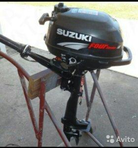 Продам лодочный мотор Suzuki DF 2.5