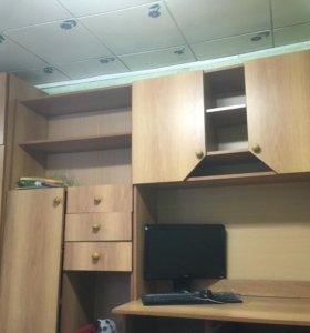 Шкафы (компьютерный столик, пенал, шкаф, полки)