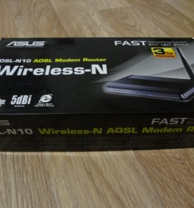 ADSL Wi-Fi роутер ASUS DSL-N10