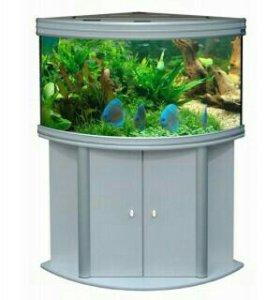Продам аквариумы 500 и 150.оборудование