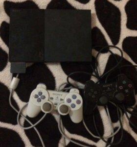 Приставка Sony Ps2+Ps1