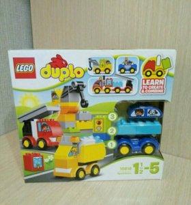 """Lego Duplo,новое """"Мои первые машинки"""""""