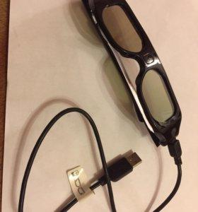 Очки 3D для телевизора Philips Новые