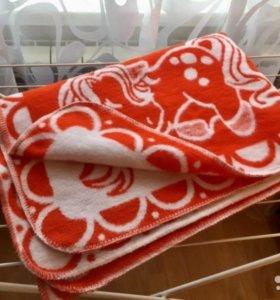 Одеяло байковое детское 100х140
