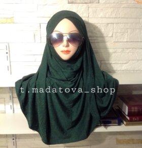 Химар с вшитом палантином хиджаб