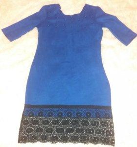 Продам велюровое платье