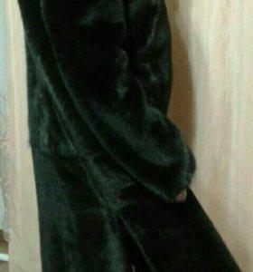 Норковая шуба. Мех '' BlackGlaMa''.
