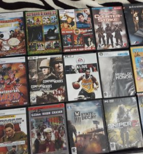 DVD диски. Диски с играми 50₽ остальные 30₽