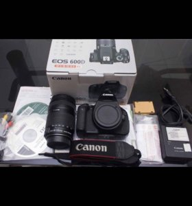 Canon 600D kit 18-135 mm!!