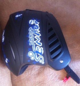 Детский шлем для катания на горных лыжах\сноуборде