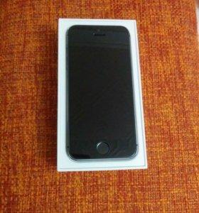 Iphone 5s 16 gb черный не использовался.