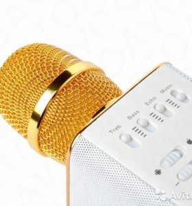 Караоке Микрофон Q9 c блютус и колонками