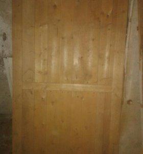 Небольшая дверь (люк в погреб) 80х150