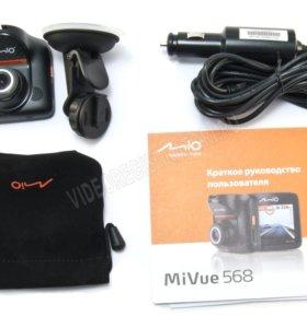 Видеорегистратор с GPS Mio MiVue 568