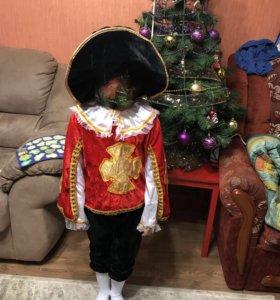 Маскарадный костюм мушкетёра 5-7 лет