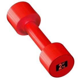 Гантели для фитнеса от 0,5 кг до 5 кг