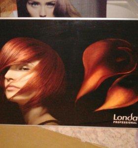"""Плакат """"Londa"""" в раме для парикмахерской"""