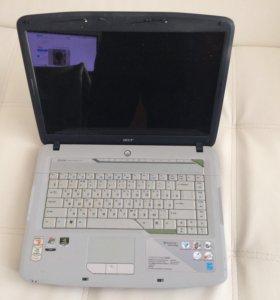 Ноутбук Acer aspire 5520g + сумка