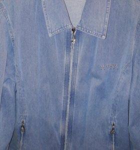 Куртка и рубашка джинсовые