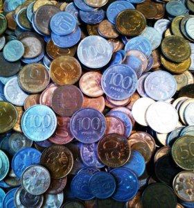 Куча монет: с 1961-2003 г. Вес монет: 3,544 кг.