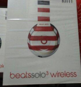 Beats solo 3 wirelles наушники