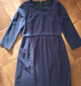 Платье синее Zara