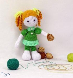 Вязанные игрушки
