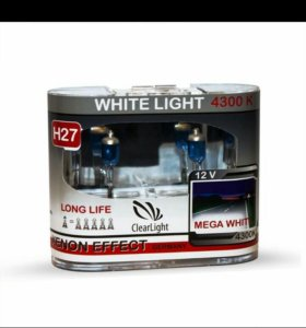 Галогеновая лампа Clearlight H27 WhiteLight 4300К