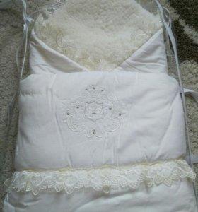 Конверт - одеяло на выписку.