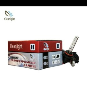 Лампа ксеноновая Clearlight HB3 9005 6000k 2шт 35В