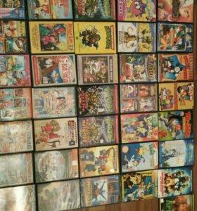 Коллекция мультфильмов и детских фильмов на dvd