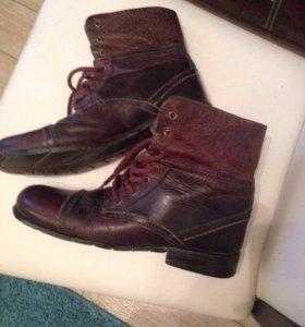 Ботинки кожаные мужские ALDO 39-40р-р