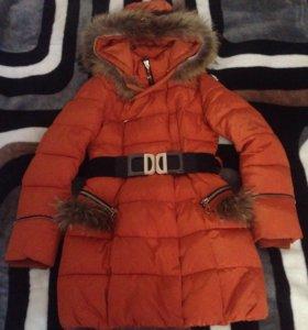 Куртка зимняя,рост146