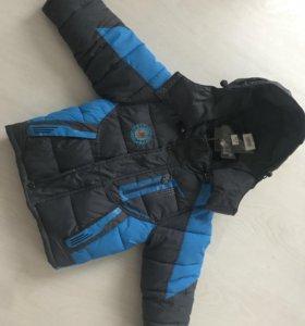 Куртка новая на 2-3 года