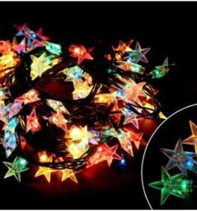 Гирлянда декоративная Звезды 5 м