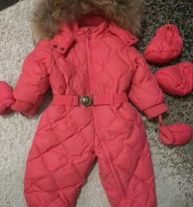 Детский зимний комбинезон 80 р