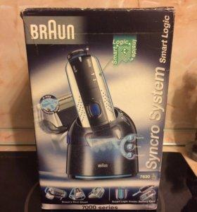 Электробритва Braun 7630 Syncro(в коробке )