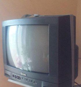 Телевизор funai + подставка Barkan