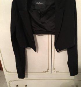 Укорочённый пиджак.