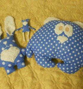набор подушек-игрушек